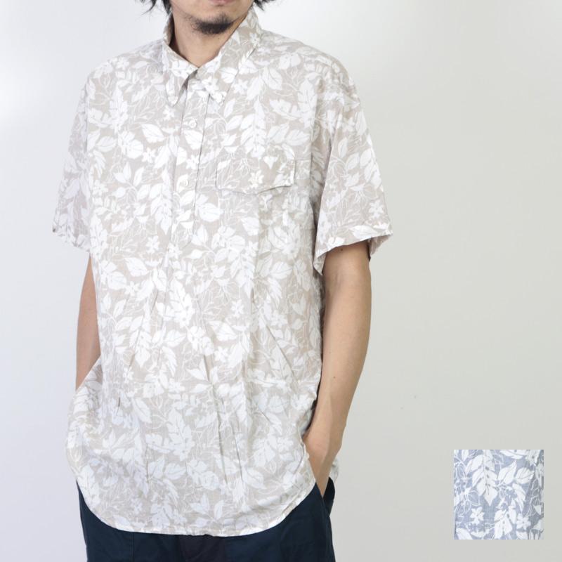 ENGINEERED GARMENTS (エンジニアードガーメンツ) Popover BD Shirt - Floral Printed Lawn / ポップオーバーボタンダウンシャツ