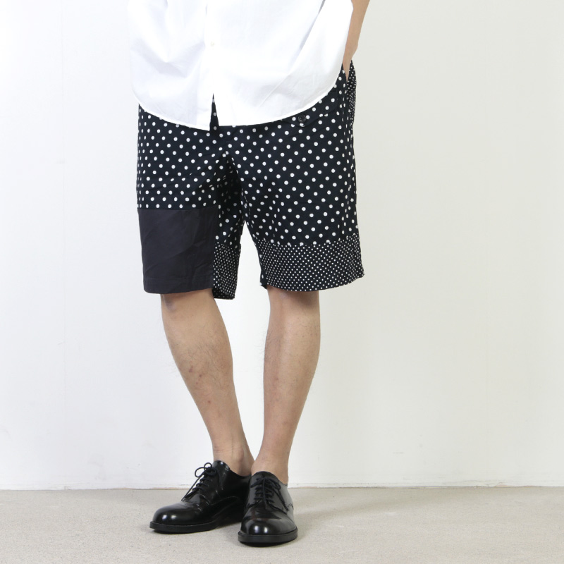 ENGINEERED GARMENTS (エンジニアードガーメンツ) Ghurka Short - Big Polka Dot Broadcloth / グルカショート