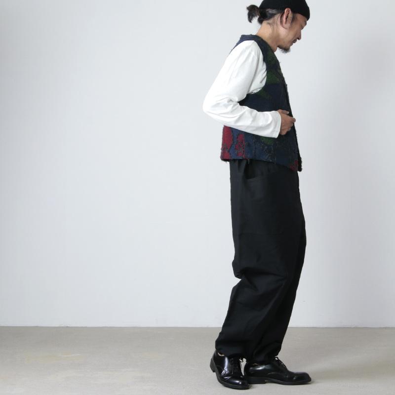 ENGINEERED GARMENTS(エンジニアードガーメンツ) Knit Vest - Floral Knit Jacquard