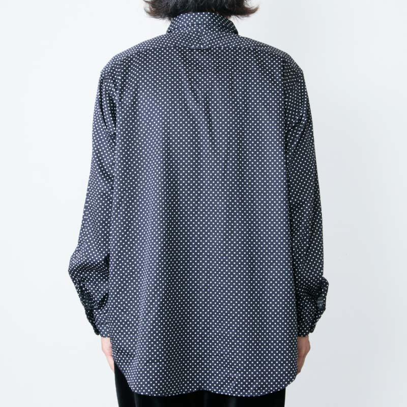ENGINEERED GARMENTS(エンジニアードガーメンツ) Short Collar Shirt - Big Polka Dot Broadcloth