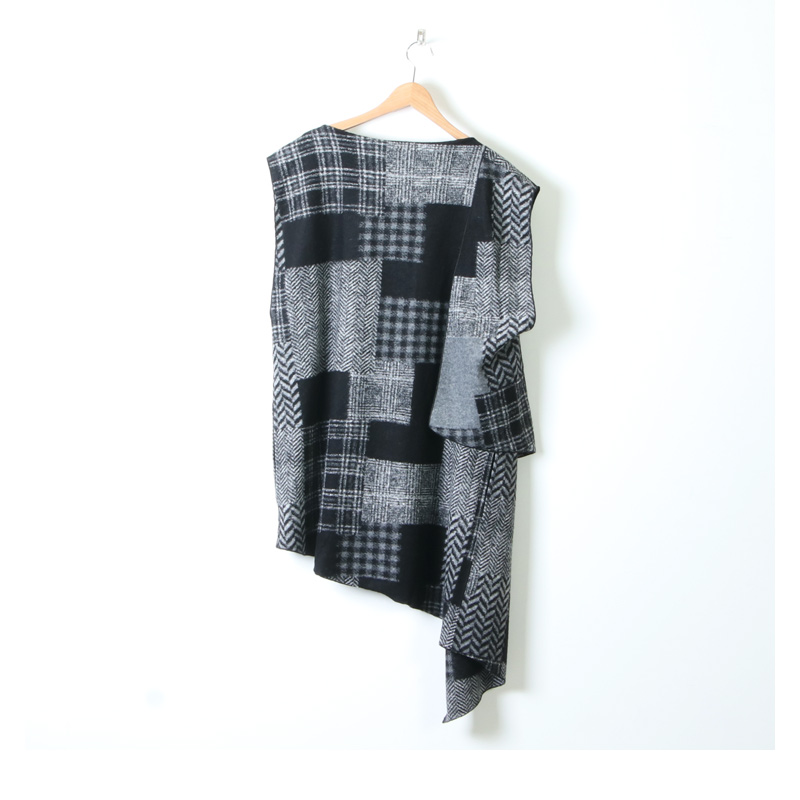 ENGINEERED GARMENTS(エンジニアードガーメンツ) Wrap Knit Vest - Knit Patchwork HB