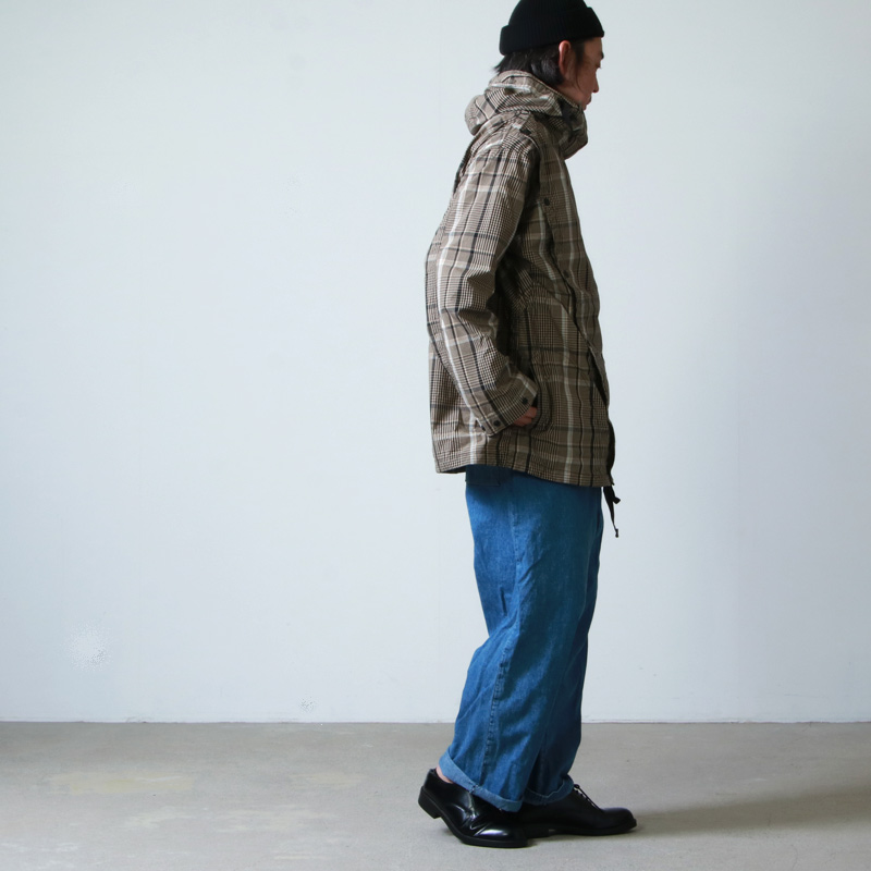 ENGINEERED GARMENTS(エンジニアードガーメンツ) Sonor Shirt Jacket -Nyco Plaid
