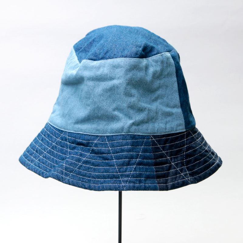 ENGINEERED GARMENTS(エンジニアードガーメンツ) Bucket Hat - Washed 8oz Denim