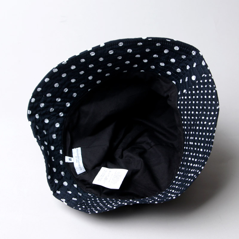 ENGINEERED GARMENTS(エンジニアードガーメンツ) Bucket Hat - Big Polka Dot Broadcloth
