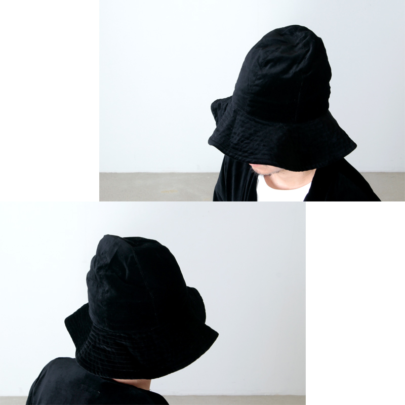 ENGINEERED GARMENTS(エンジニアードガーメンツ) Dome Hat - Cotton Velveteen