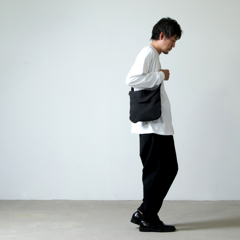 ENGINEERED GARMENTS(エンジニアードガーメンツ) Shoulder Pouch - Fake Melton