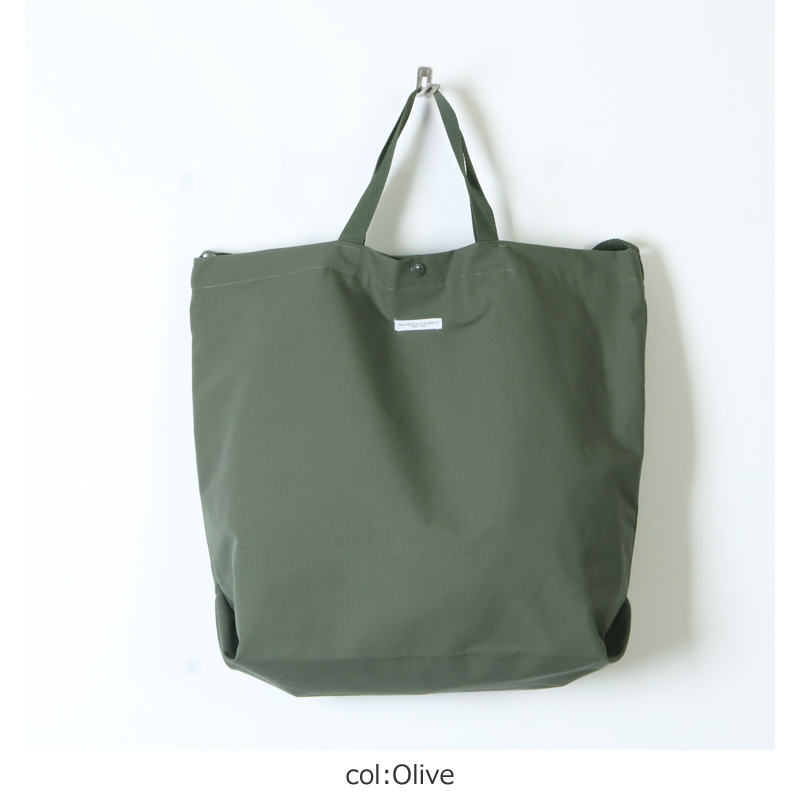 ENGINEERED GARMENTS(エンジニアードガーメンツ) Carry All Tote -Cotton Ripstop