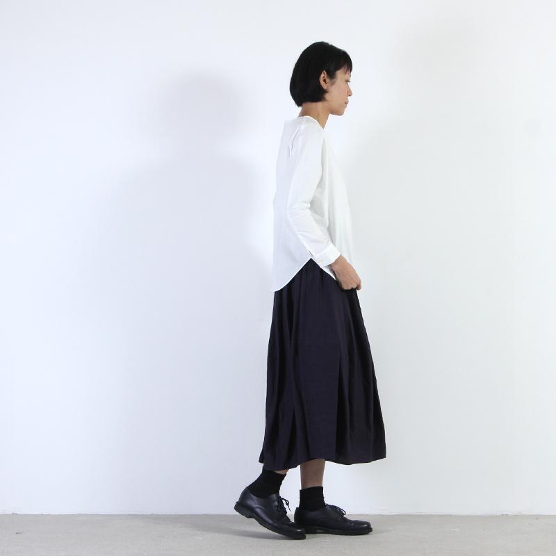 evameva(エヴァムエヴァ) Cotton dolman pullover