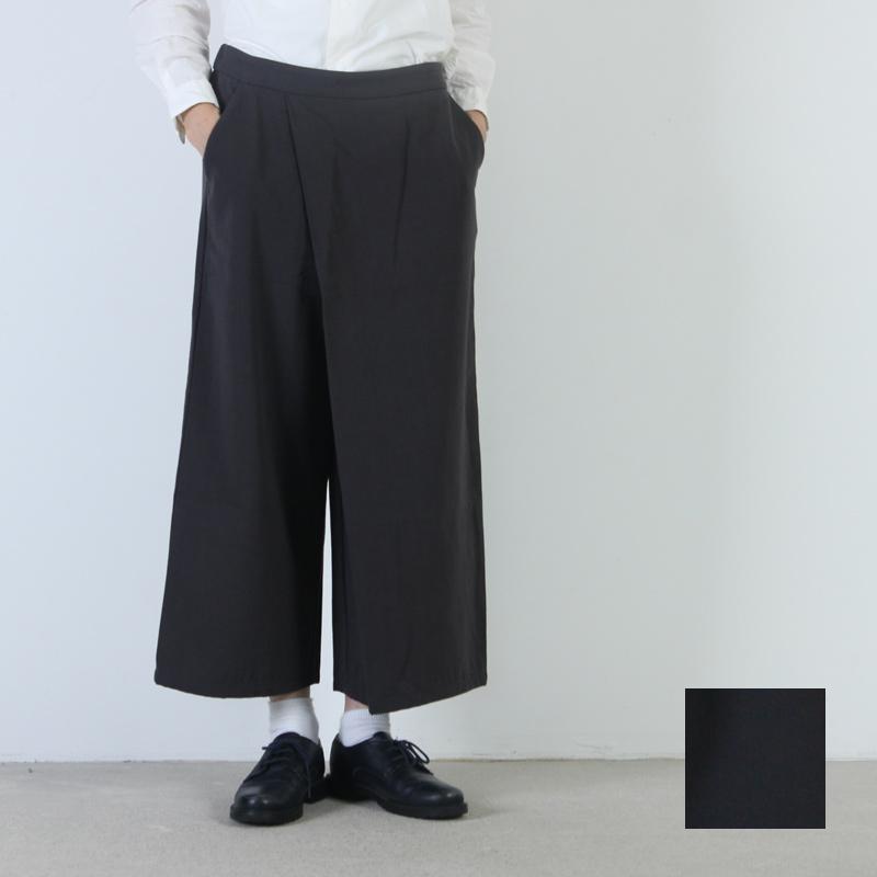 evameva (エヴァムエヴァ) Cotton wool wrap easy pants / コットンウールラップイージーパンツ
