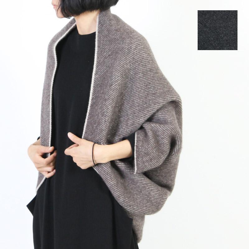 evameva (エヴァムエヴァ) Wool alpaca bolero / ウール アルパカ ボレロ