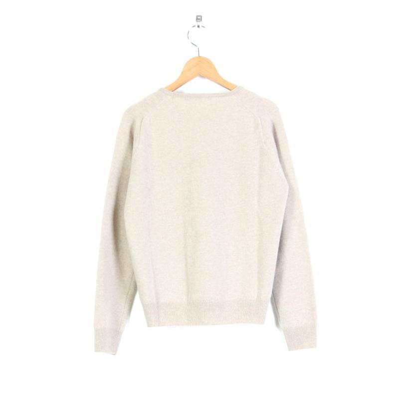 evameva(エヴァムエヴァ) Wool angora pullover