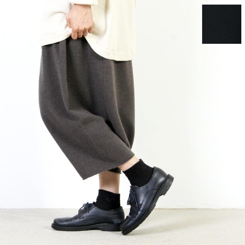 evameva(エヴァムエヴァ) Wool angora sarrouel pants