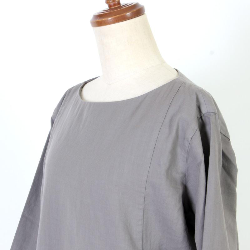 evameva(エヴァムエヴァ) Cotton silk gather one piece