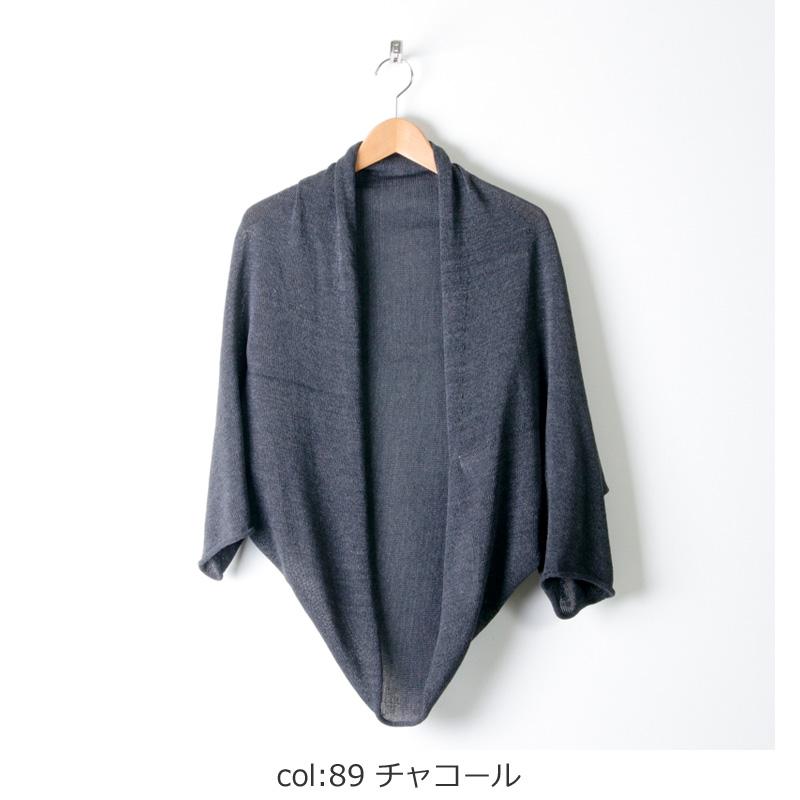 evameva(エヴァムエヴァ) Dry cotton bolero