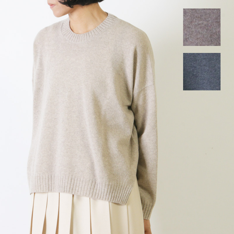 evameva (エヴァムエヴァ) Wool pullover / ウールプルオーバー
