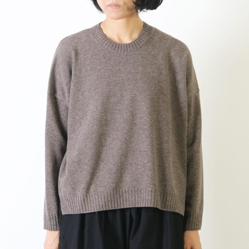 evameva(エヴァムエヴァ) Wool pullover