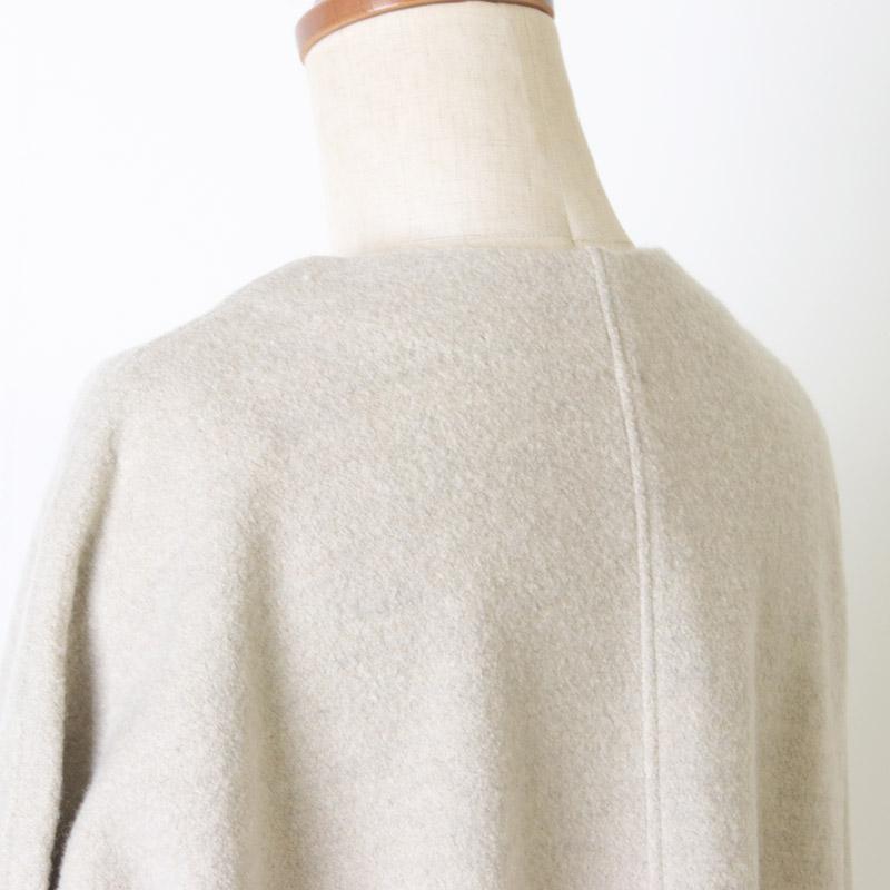 evameva(エヴァムエヴァ) Press wool coat