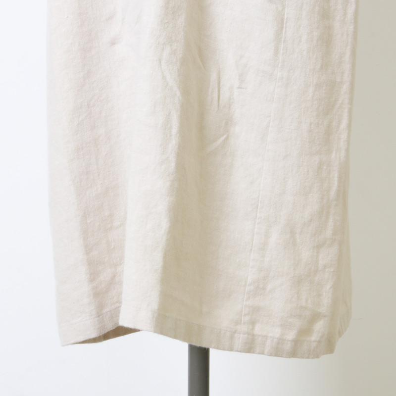 evameva(エヴァムエヴァ) Raising linen dolman onepiece