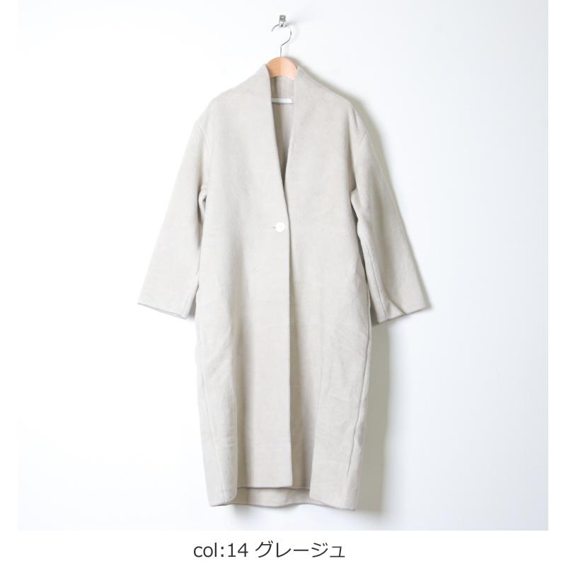 evameva(エヴァムエヴァ) Raising cotton robe