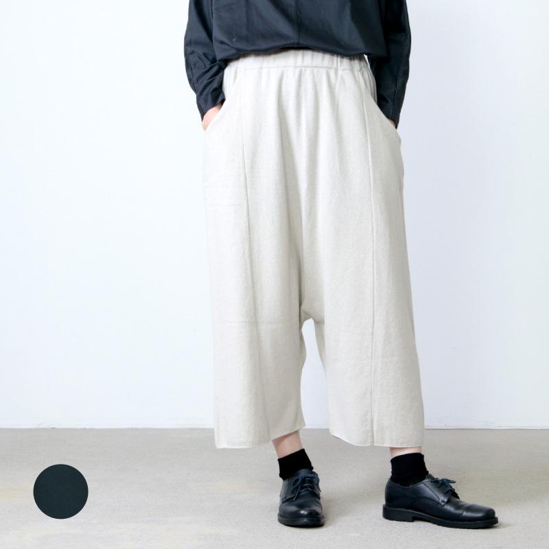 evameva (エヴァムエヴァ) wool cashmere sarrouel pants / ウールカシミアサルエルパンツ