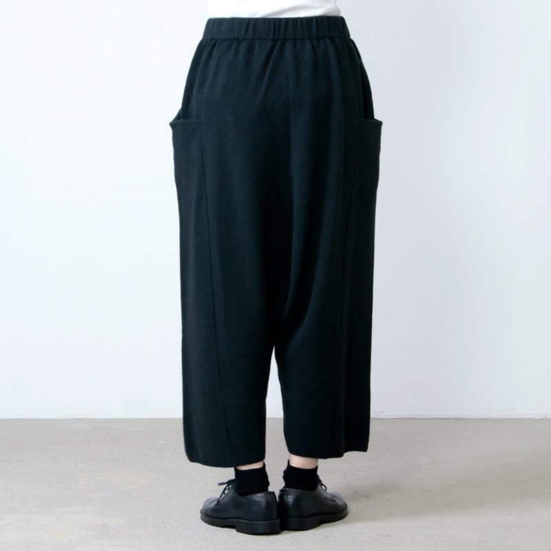 evameva(エヴァムエヴァ) wool cashmere sarrouel pants