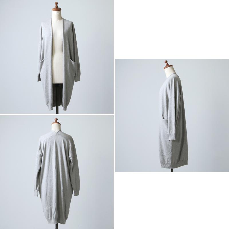 evameva(エヴァムエヴァ) cotton cashmere robe