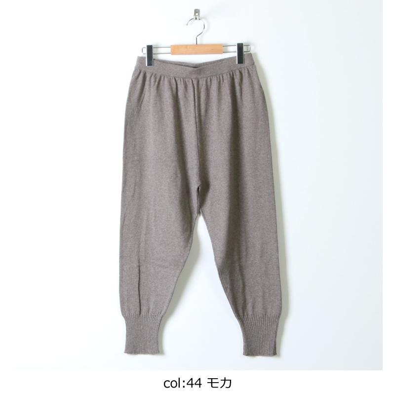 evameva(エヴァムエヴァ) cotton cashmere pants