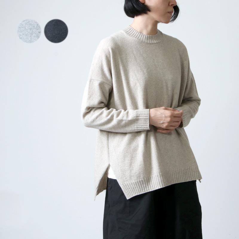 evameva (エヴァムエヴァ) wool PO / ウールプルオーバー