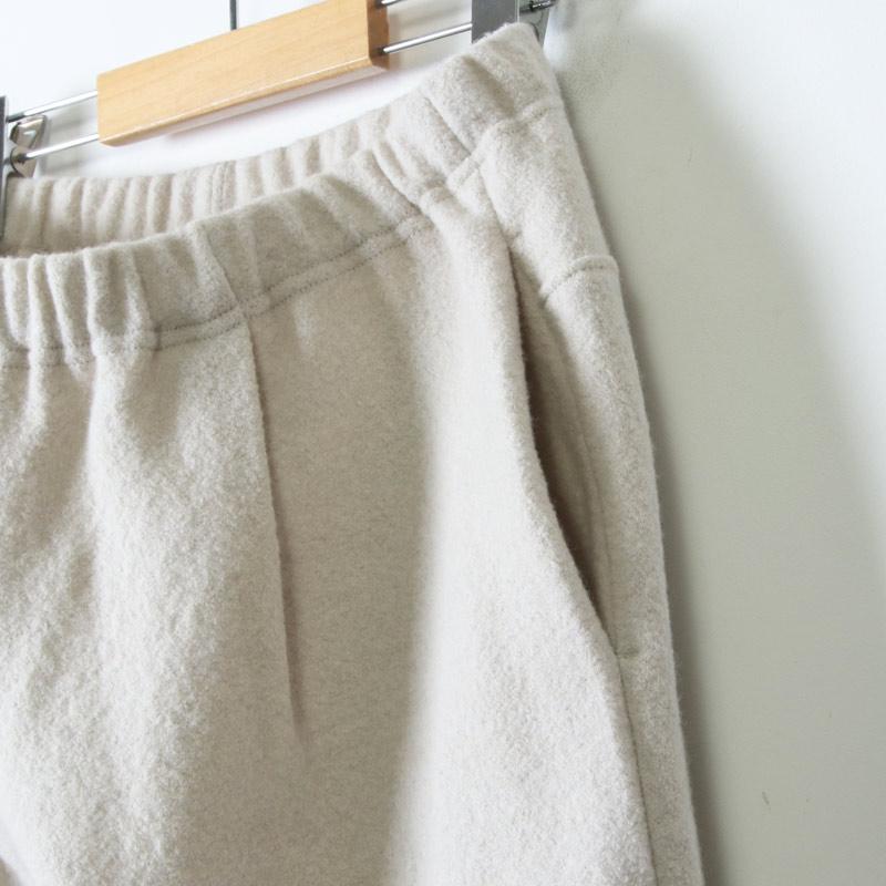 evameva(エヴァムエヴァ) press wool pants