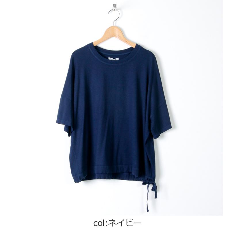 FACTORY(ファクトリー) バンブーコットン ウエストヒモワイドTシャツ