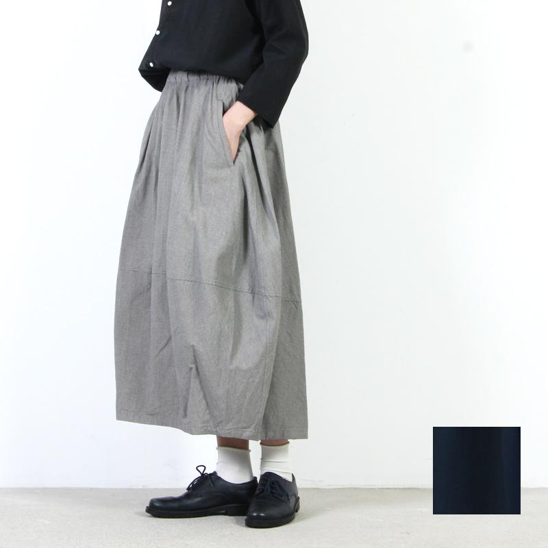 FACTORY (ファクトリー) コットン 千鳥格子バルーンスカート