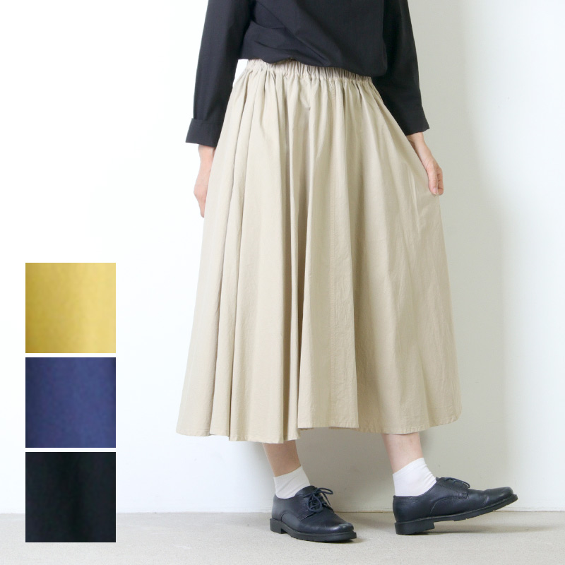FACTORY (ファクトリー) コットン サーキュラースカート