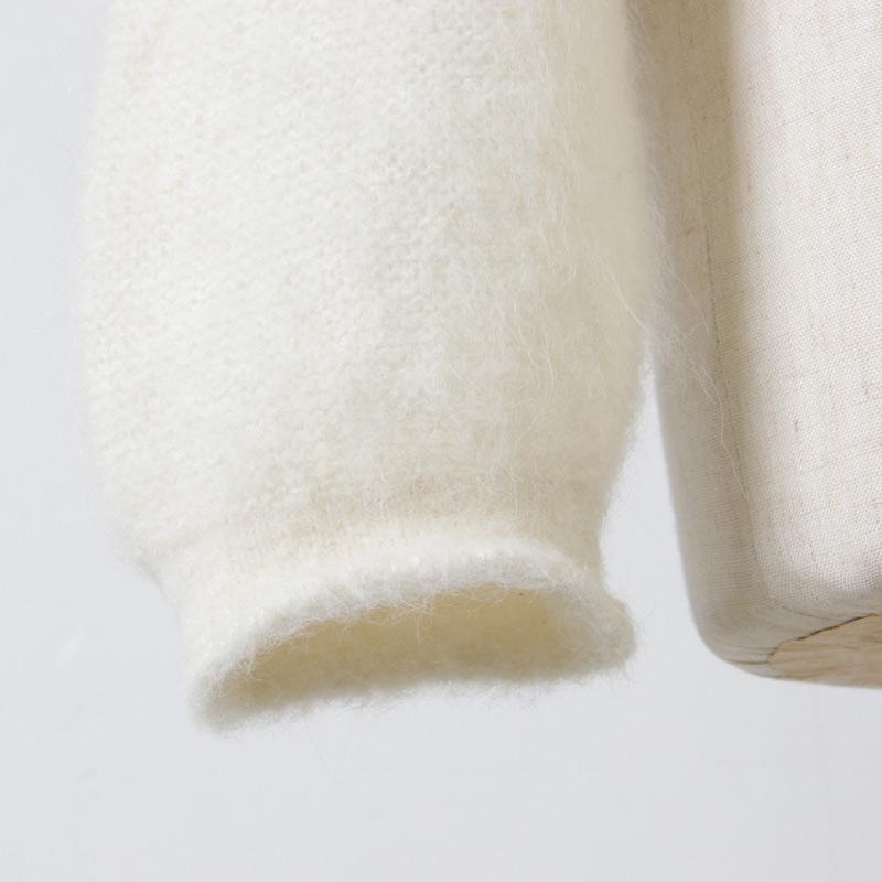 FACTORY(ファクトリー) アルパカ×シルク ショートタムタムセーター