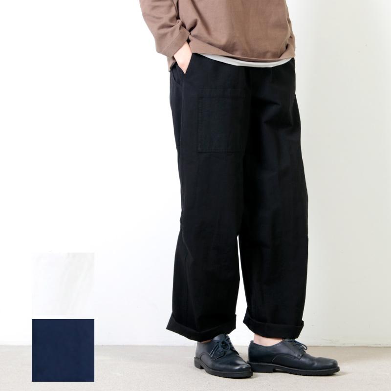 FACTORY (ファクトリー) ペルー綿カーブポケットパンツ
