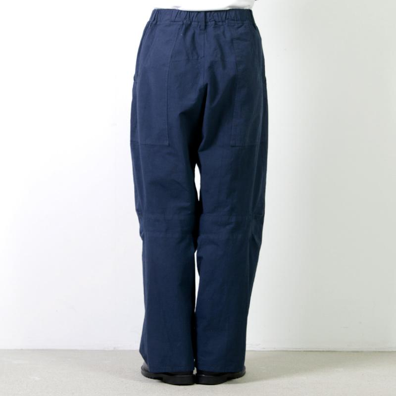 FACTORY(ファクトリー) ペルー綿カーブポケットパンツ