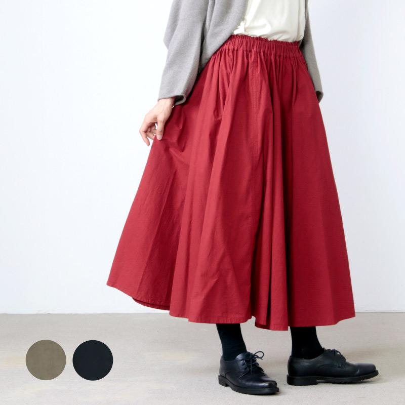 FACTORY (ファクトリー) 綿高密度ブロード サーキュラースカート