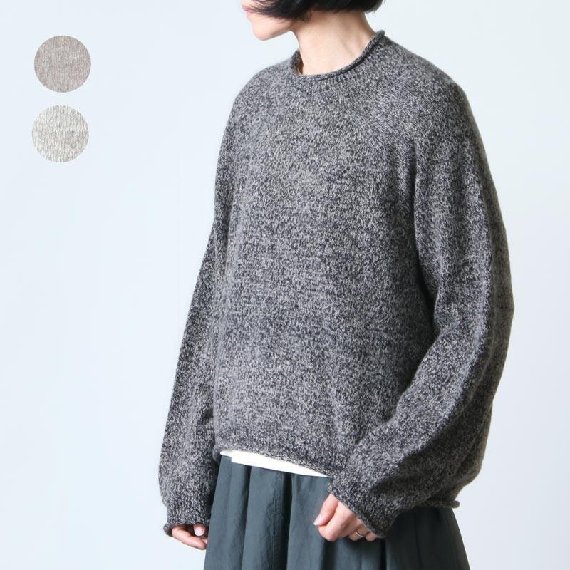 FACTORY (ファクトリー) ウール カーブセーター