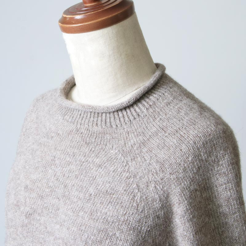 FACTORY(ファクトリー) ウール カーブセーター
