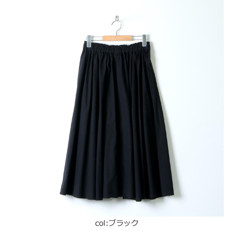 FACTORY(ファクトリー) 綿ブロード サーキュラースカート