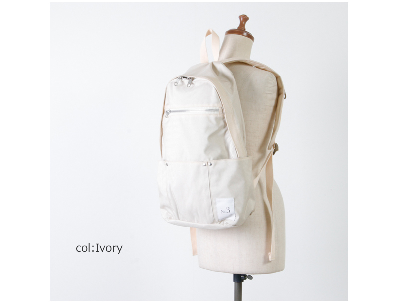 Ficouture(フィクチュール) 3 Out Pocket Day Pack