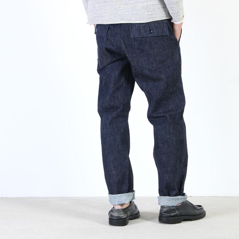 F.O.B FACTORY(エフオービーファクトリー) Denim Baker Pants