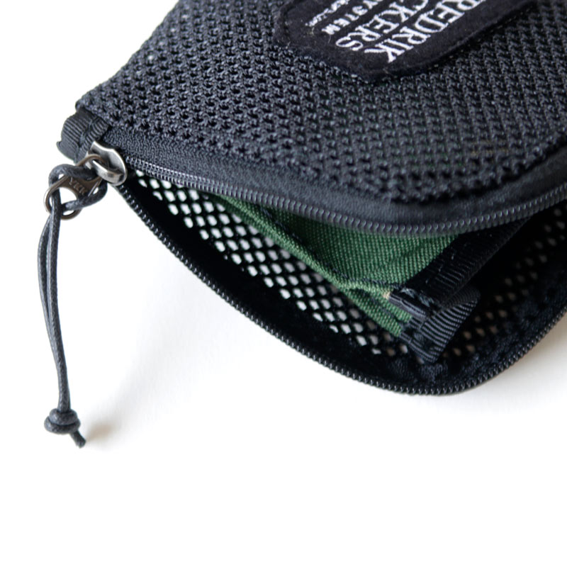 FREDRIK PACKERS(フレドリックパッカーズ) HEAVY MESH COIN CASE