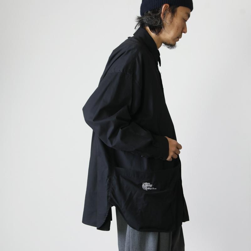 Fresh Service(フレッシュサービス) Tool Pocket Regular Collar Utility Shirt