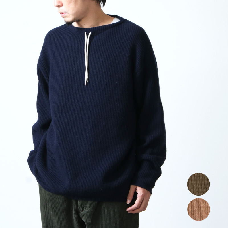 FUJITO (フジト) Commando Sweater / コマンドセーター
