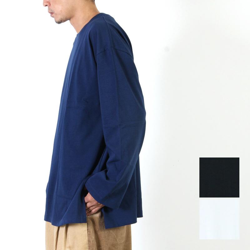 FUKAMI (フカミ) SIDE SLIT BIG LONG TEE / サイドスリット ビッグロンT