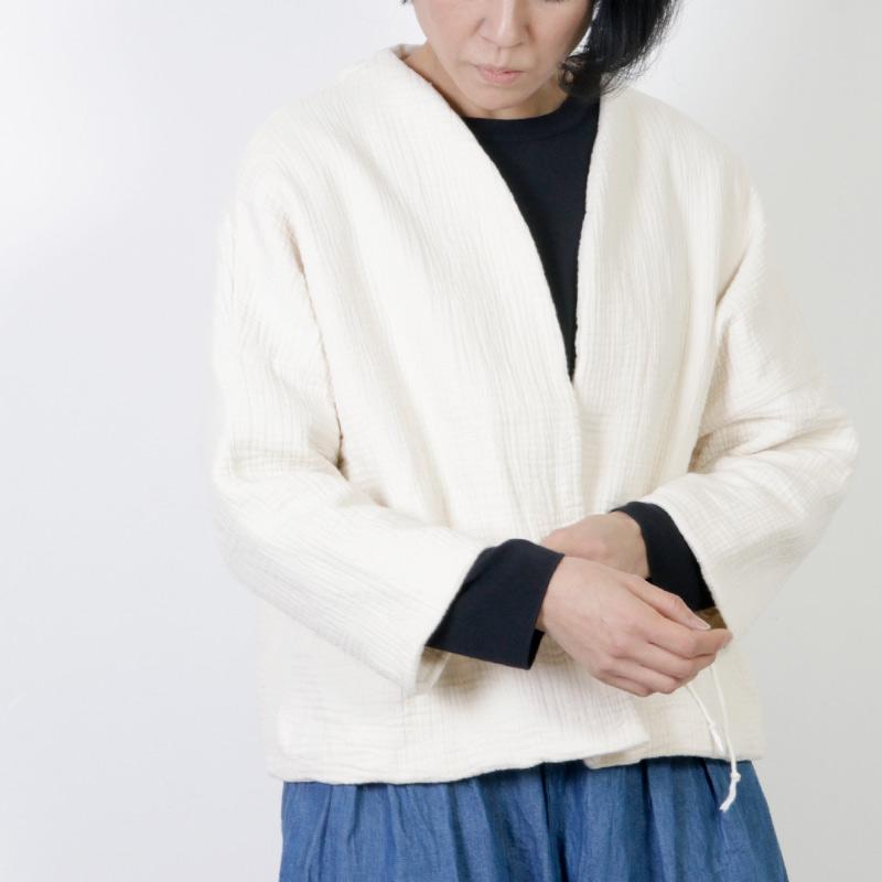 Gauze(ガーゼ) シックスレイヤーコットンHAORIジャケット