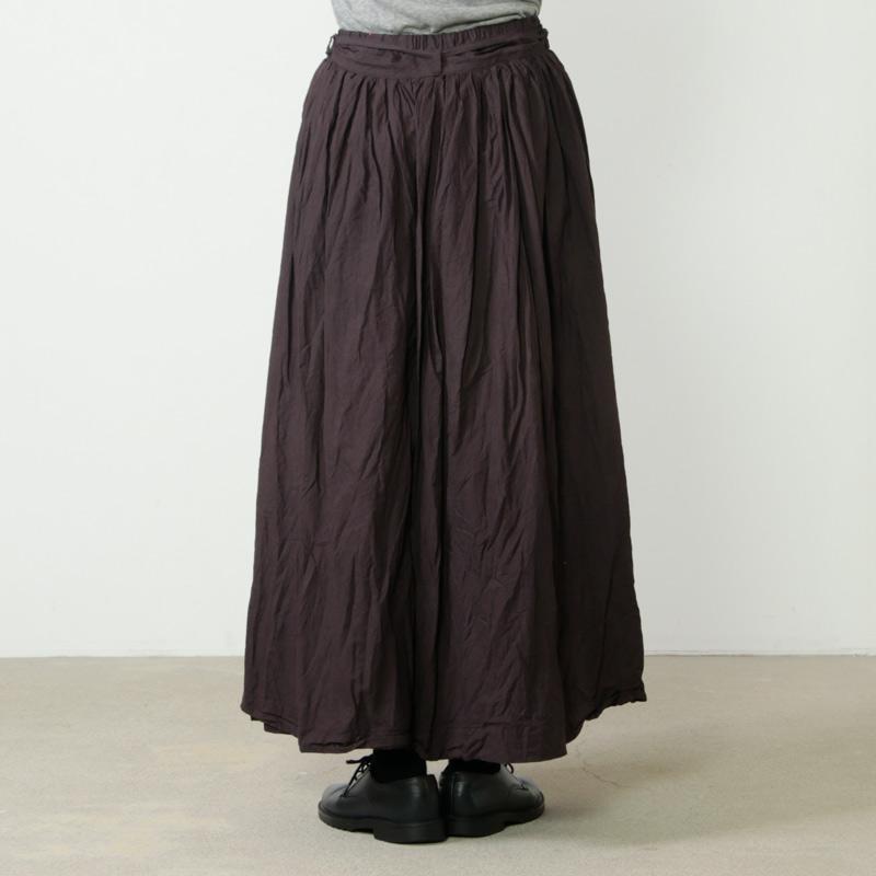 Gauze(ガーゼ) カディコットンギャザースカート