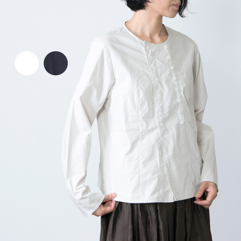 Gauze (ガーゼ) タイプライタークロスコックシャツ