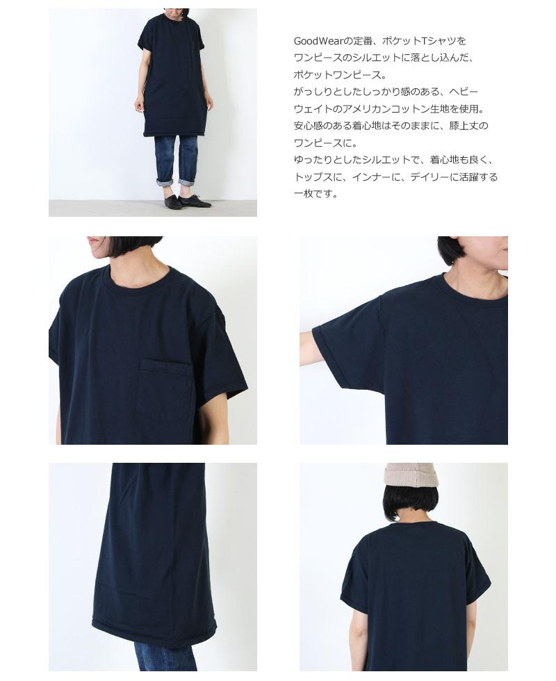 GoodWear(グッドウェア) Pocket Onepiece