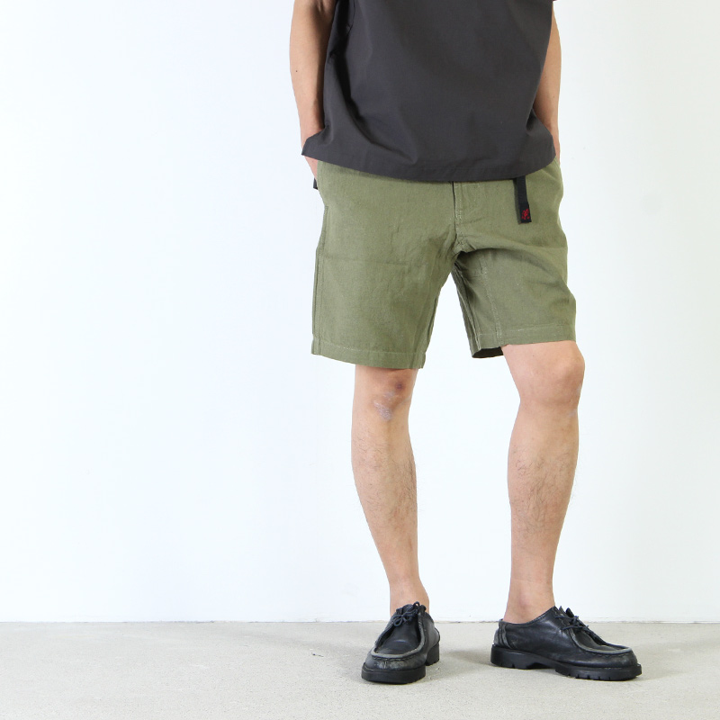 GRAMICCI(グラミチ) COTTON-LINEN ZIPPER SHORTS